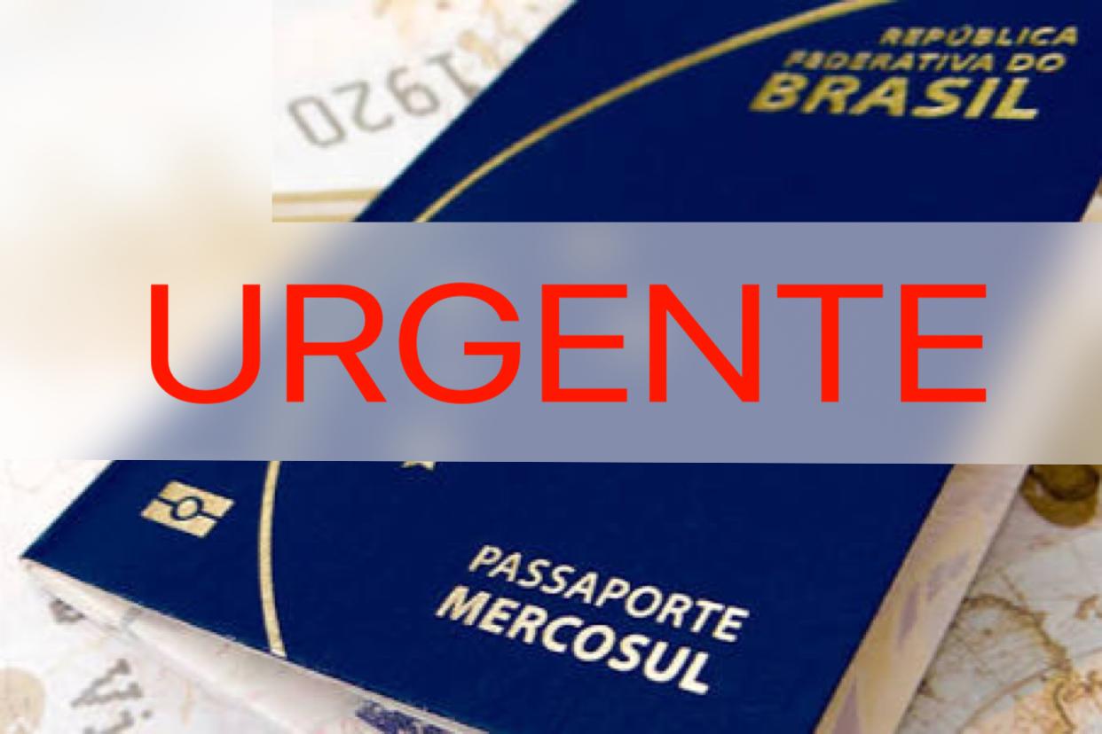 EMISSÃO DE PASSAPORTE BRASILEIRO ESTÁ SUSPENSA!