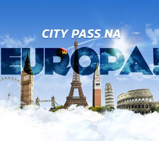 LANÇAMENTO: CITY PASS NA EUROPA