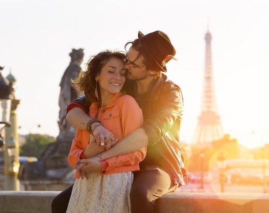 Viaje com seu amor para a Europa